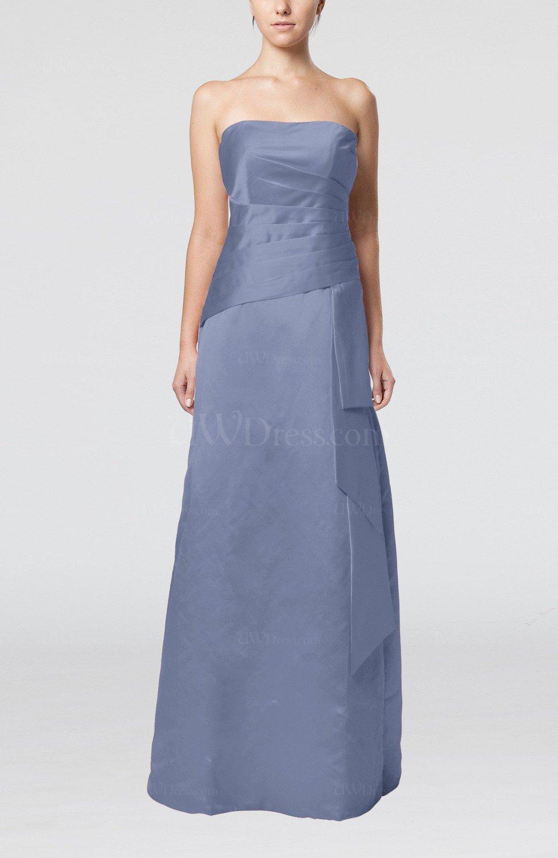 Freesia elegant sheath sleeveless backless satin ruching for Elegant guest wedding dresses