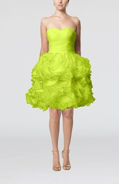 Lime Green Club Dresses Apple Green Coc...