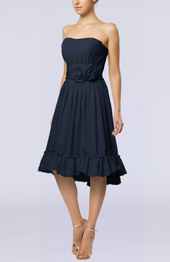 Blue Strapless Cocktail Dresses