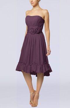 Purple Bridesmaid Dresses under 100 - UWDress.com