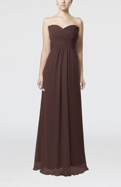 Chocolate Brown Bridesmaid Dresses - UWDress.com
