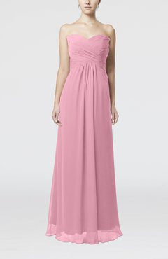 Light coral color dress