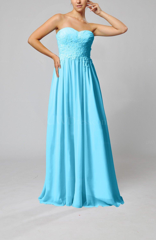Turquoise elegant sleeveless zip up chiffon pleated for Turquoise wedding guest dress