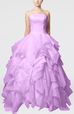 Begonia Disney Princess Outdoor Princess Sleeveless Backless Organza Bridal Gowns