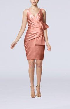 light coral color cocktail dresses uwdresscom