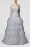 Fairytale Church Sweetheart Sleeveless Backless Ruching Bridal Gowns