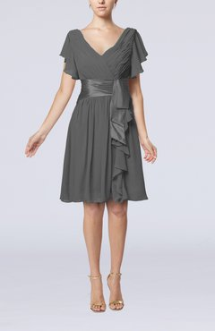 Pewter cocktail dresses