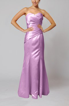 Begonia Elegant Sleeveless Backless Floor Length Ruching Bridesmaid Dresses
