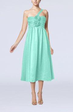 Seafoam Green Color Little Black Dresses - UWDress.com