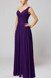 Plain Column One Shoulder Sleeveless Chiffon Ruching Wedding Guest Dresses