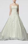 Disney Princess Church Strapless Sleeveless Court Train Beaded Bridal Gowns