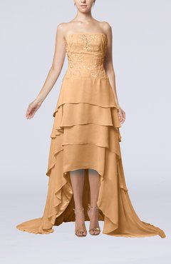 Fall Burnt Orange Mother of the Bride Dresses