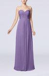 Simple Empire Sweetheart Sleeveless Floor Length Bridesmaid Dresses