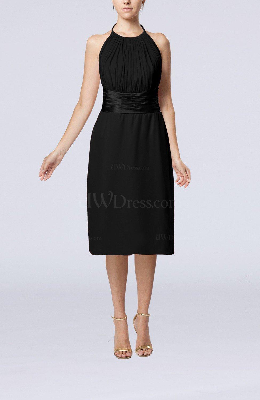 Black Cocktail Dress Backless 41