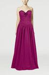 Elegant Column Sleeveless Chiffon Floor Length Beaded Wedding Guest Dresses