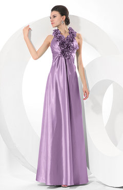 Begonia Simple Halter Sleeveless Taffeta Ruching Bridesmaid Dresses