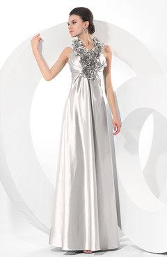 Platinum Ruched Bridesmaid Dresses