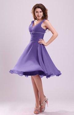 Lilac Color Bridesmaid Dresses - UWDress.com
