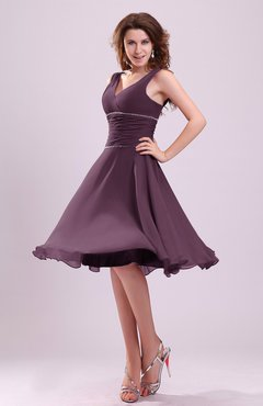 Plum Color Special Occasion Dresses - UWDress.com
