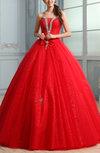 Cinderella Sleeveless Floor Length Bow Prom Dresses