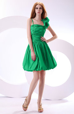 Kelly green color dresses