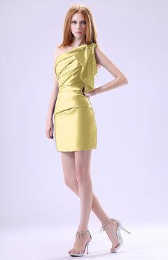 daffodil color little black dresses - uwdress