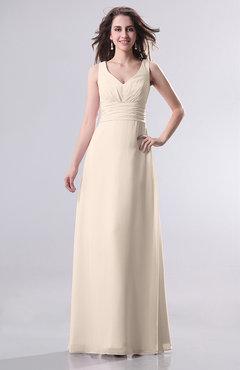Simple Cream Gown