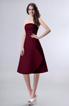Burgundy Colored Dresses