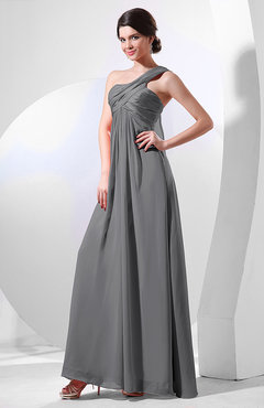 Charcoal Grey Bridesmaid Dresses - UWDress.com