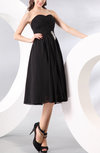 Simple Sweetheart Sleeveless Zipper Chiffon Ruching Mother of the Bride Dresses