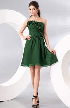 Hunter Green Cocktail Dresses - UWDress.com