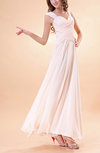 Romantic A-line Thick Straps Zipper Chiffon Sequin Homecoming Dresses