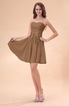 Light Brown Bridesmaid Dresses 34