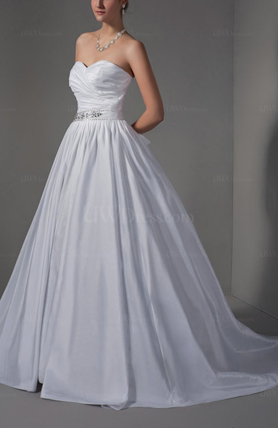 Cinderella Wedding And Evening Gowns : Cinderella outdoor princess backless court train beaded bridal gowns