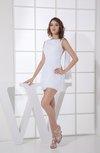 Simple Sabrina Zipper Chiffon Mini Sequin Party Dresses