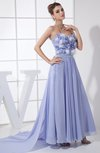 Fairytale A-line Sweetheart Sleeveless Chiffon Graduation Dresses