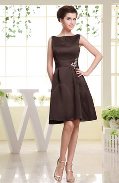 Chocolate Cocktail Dresses for Women