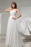 Romantic A-line Sweetheart Chiffon Floor Length Evening Dresses