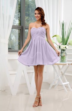 What color makes light purple dress