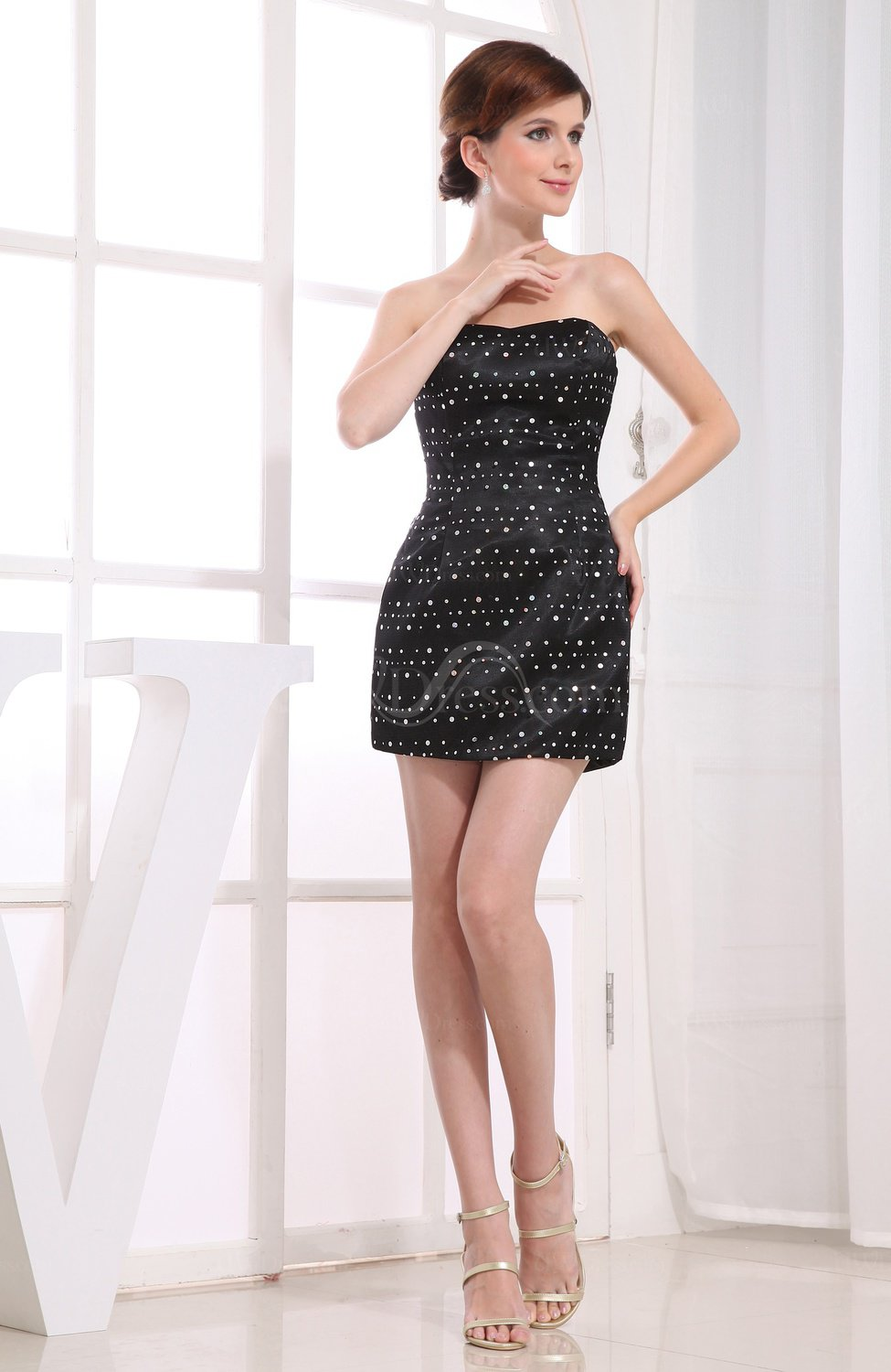 Buy low price, high quality plain black strapless dress with worldwide shipping on salestopp1se.gq