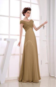Prom Dresses Indian Tan color - UWDress.com
