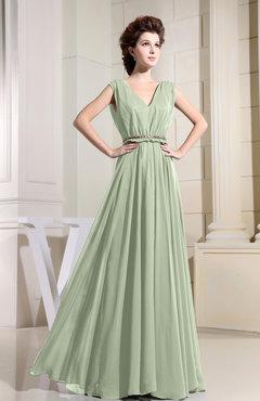 Pale Green Color Bridesmaid Dresses - UWDress.com