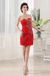 Modern Sweetheart Sleeveless Chiffon Mini Appliques Party Dresses