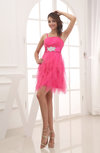 Romantic A-line Spaghetti Short Party Dresses
