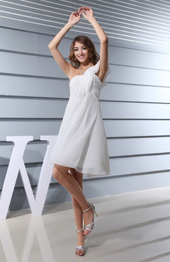 Classic Sleeveless Backless Chiffon Ruching Wedding Guest Dresses