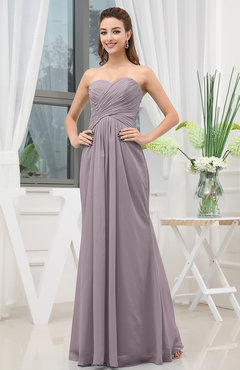 Cameo Simple Sweetheart Sleeveless Zipper Floor Length Ruching Bridesmaid Dresses