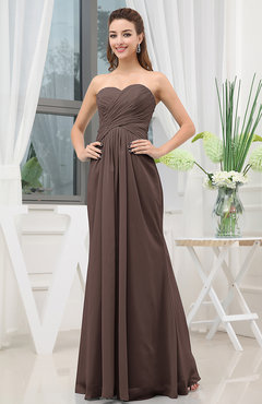 Mocha Bridesmaid Dresses - Dress Xy