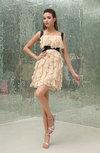 Disney Princess A-line Square Zipper Ruffles Bridesmaid Dresses