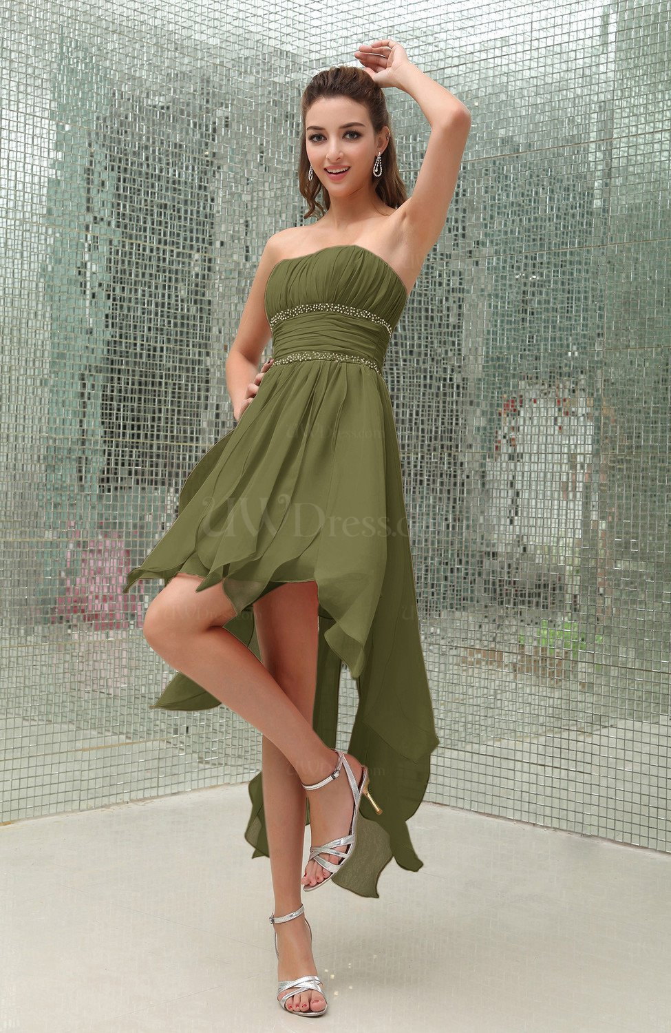 Olive Fall Wedding Guest Dresses