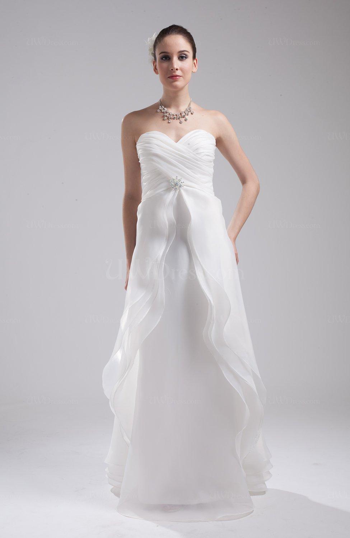 Disney princess outdoor a line sleeveless organza for Disney line wedding dresses